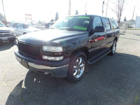 2004 Chevrolet Suburban for sale at Gold Key Motors in Centralia WA