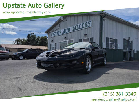 2000 Pontiac Firebird for sale at Upstate Auto Gallery in Westmoreland NY