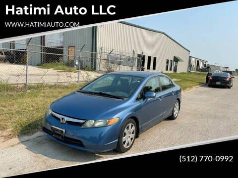 2008 Honda Civic for sale at Hatimi Auto LLC in Austin TX