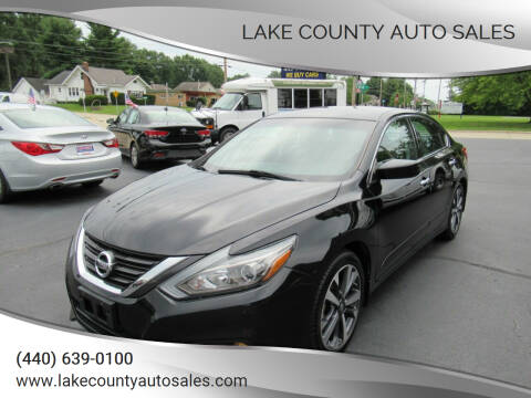 2016 Nissan Altima for sale at Lake County Auto Sales in Painesville OH