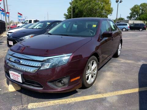 2012 Ford Fusion for sale at Affordable Autos in Wichita KS