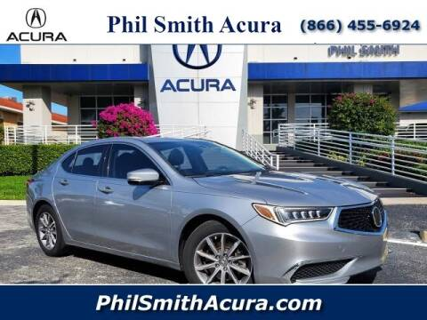 2019 Acura TLX for sale at PHIL SMITH AUTOMOTIVE GROUP - Phil Smith Acura in Pompano Beach FL