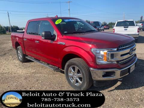 2018 Ford F-150 for sale at BELOIT AUTO & TRUCK PLAZA INC in Beloit KS