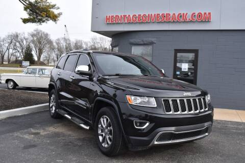 2014 Jeep Grand Cherokee for sale at Heritage Automotive Sales in Columbus in Columbus IN