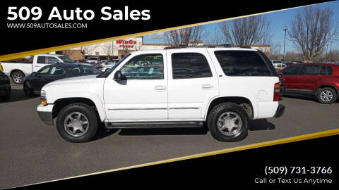 2002 Chevrolet Tahoe for sale at 509 Auto Sales in Kennewick WA