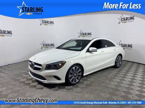 2017 Mercedes-Benz CLA for sale at Pedro @ Starling Chevrolet in Orlando FL