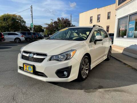2014 Subaru Impreza for sale at ADAM AUTO AGENCY in Rensselaer NY