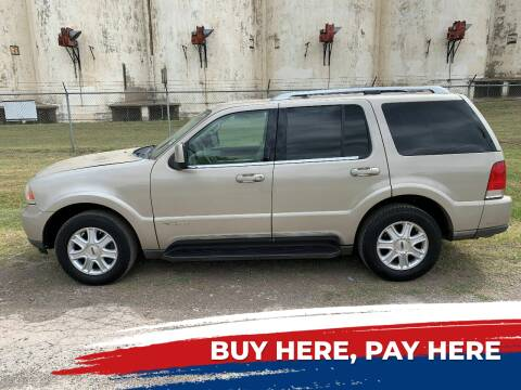 2004 Lincoln Aviator for sale at WF AUTOMALL in Wichita Falls TX