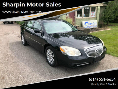 2010 Buick Lucerne for sale at Sharpin Motor Sales in Columbus OH