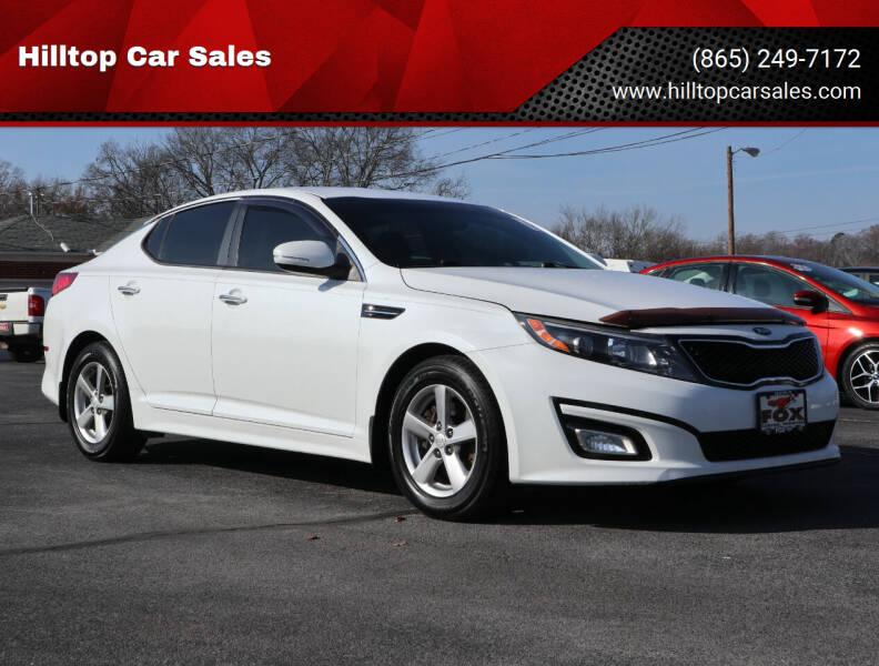 2015 Kia Optima for sale at Hilltop Car Sales in Knox TN