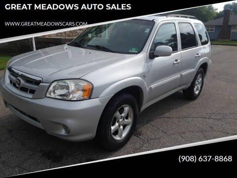 2005 Mazda Tribute for sale at GREAT MEADOWS AUTO SALES in Great Meadows NJ