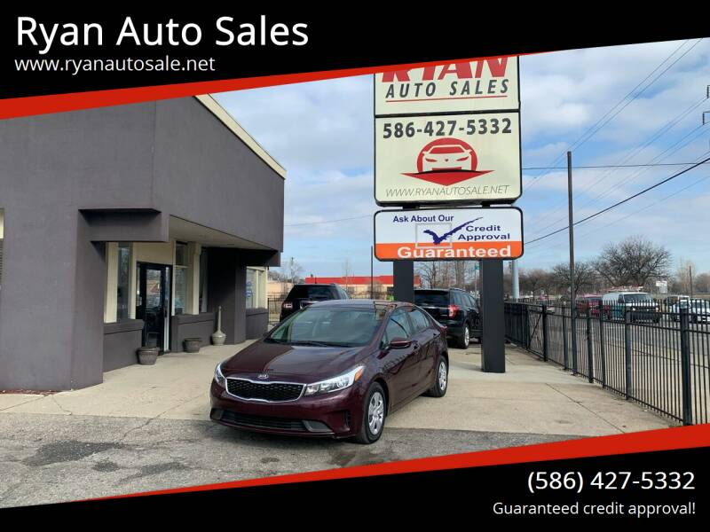2018 Kia Forte for sale at Ryan Auto Sales in Warren MI