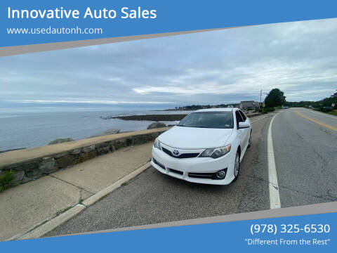 2014 Toyota Camry Hybrid for sale at Innovative Auto Sales in North Hampton NH