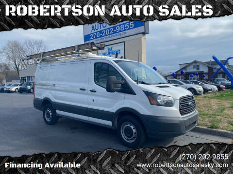 2015 Ford Transit Cargo for sale at ROBERTSON AUTO SALES in Bowling Green KY
