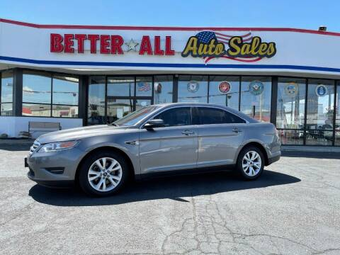 2012 Ford Taurus for sale at Better All Auto Sales in Yakima WA