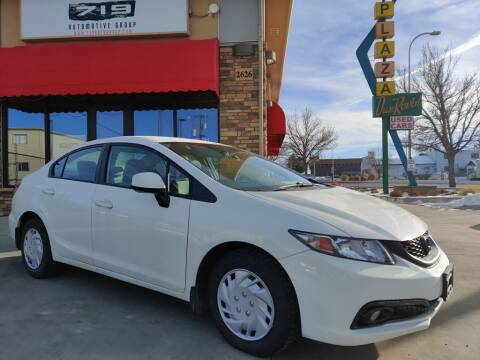 2013 Honda Civic for sale at 719 Automotive Group in Colorado Springs CO