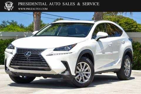 2018 Lexus NX 300 for sale at Presidential Auto  Sales & Service in Delray Beach FL