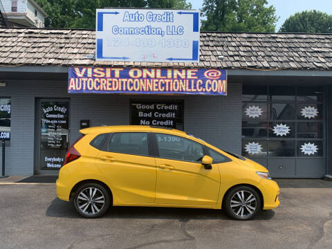 2018 Honda Fit for sale at Auto Credit Connection LLC in Uniontown PA