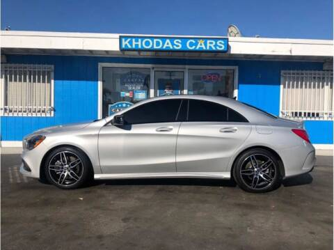 2018 Mercedes-Benz CLA for sale at Khodas Cars in Gilroy CA