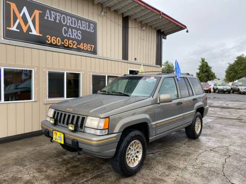 1995 Jeep Grand Cherokee for sale at M & A Affordable Cars in Vancouver WA