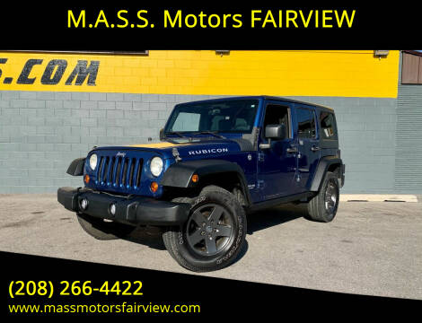 2009 Jeep Wrangler Unlimited for sale at M.A.S.S. Motors - Fairview in Boise ID