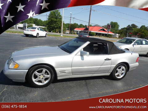 1998 Mercedes-Benz SL-Class for sale at CAROLINA MOTORS in Thomasville NC
