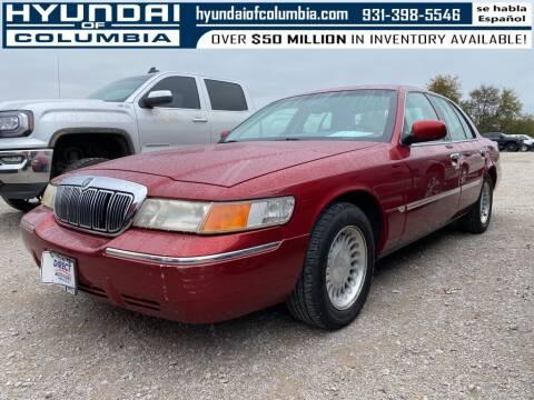 2001 Mercury Grand Marquis for sale at Hyundai of Columbia Con Alvaro in Columbia TN