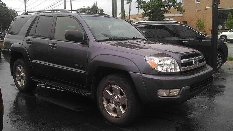 2005 Toyota 4Runner for sale at GRANITE RUN PRE OWNED CAR AND TRUCK OUTLET in Media PA