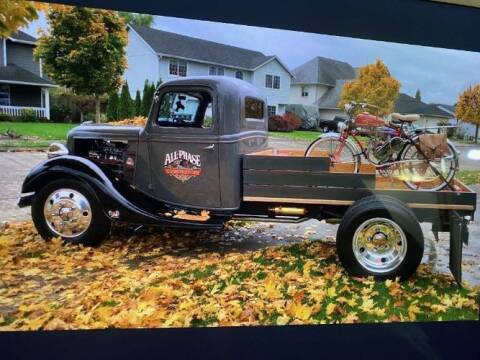 1937 Ford F-100 for sale at Classic Car Deals in Cadillac MI