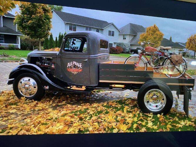 1937 Ford F-100 for sale in Cadillac, MI