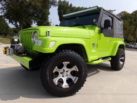 1998 Jeep Wrangler for sale at Calvary Motors, Inc. in Bixby OK