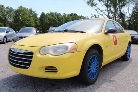 2006 Chrysler Sebring for sale at UpCountry Motors in Taylors SC