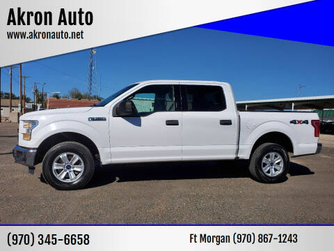 2015 Ford F-150 for sale at Akron Auto - Fort Morgan in Fort Morgan CO