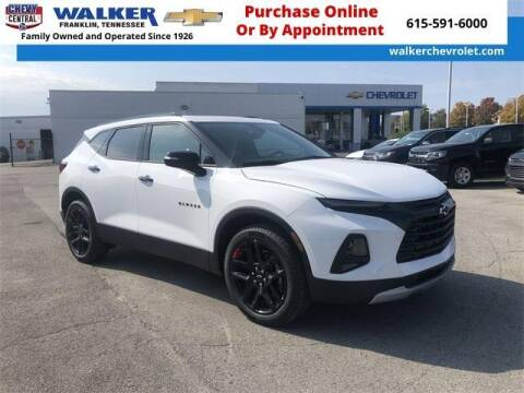 2021 Chevrolet Blazer for sale at WALKER CHEVROLET in Franklin TN