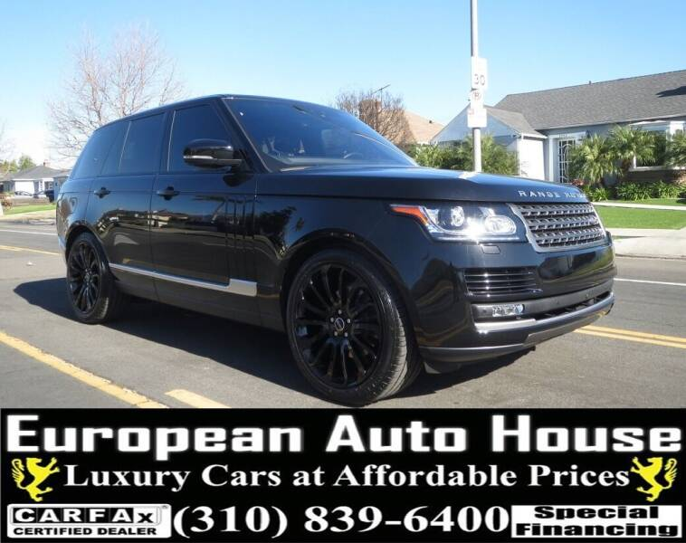2017 Land Rover Range Rover for sale at European Auto House in Los Angeles CA