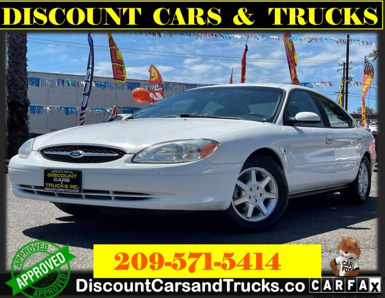 2000 Ford Taurus for sale at Discount Cars & Trucks in Modesto CA