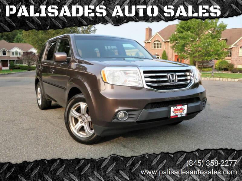 2013 Honda Pilot for sale at PALISADES AUTO SALES in Nyack NY