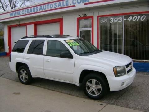 2006 Chevrolet TrailBlazer for sale at Cedar Auto Sales in Lansing MI