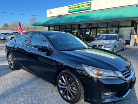 2014 Honda Accord for sale at Action Auto Specialist in Norfolk VA