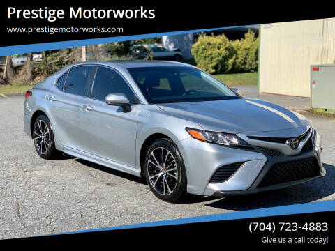 2018 Toyota Camry for sale at Prestige Motorworks in Concord NC