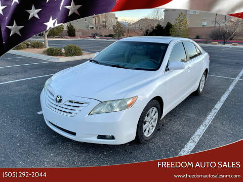 2009 Toyota Camry for sale at Freedom Auto Sales in Albuquerque NM