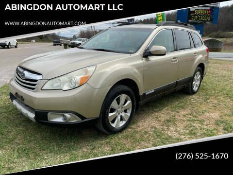 2010 Subaru Outback for sale at ABINGDON AUTOMART LLC in Abingdon VA
