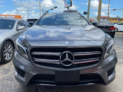 2017 Mercedes-Benz GLA for sale at Nation Autos Miami in Hialeah FL