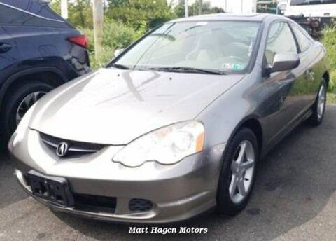 2002 Acura RSX for sale at Matt Hagen Motors in Newport NC