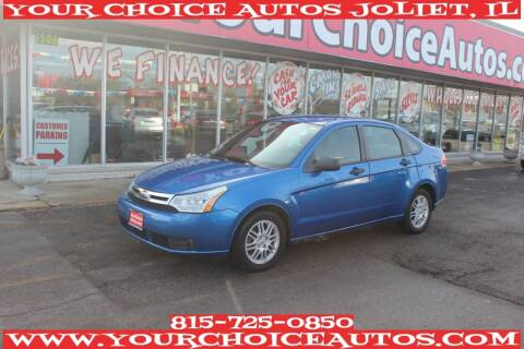2010 Ford Focus for sale at Your Choice Autos - Joliet in Joliet IL