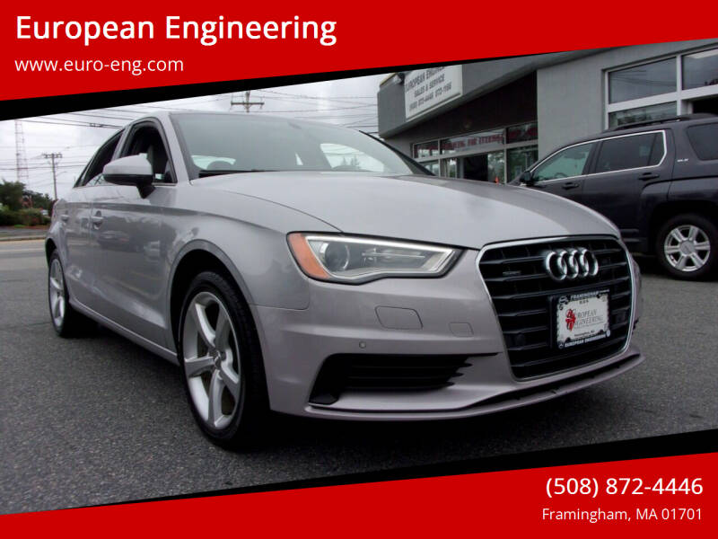 2016 Audi A3 for sale at European Engineering in Framingham MA