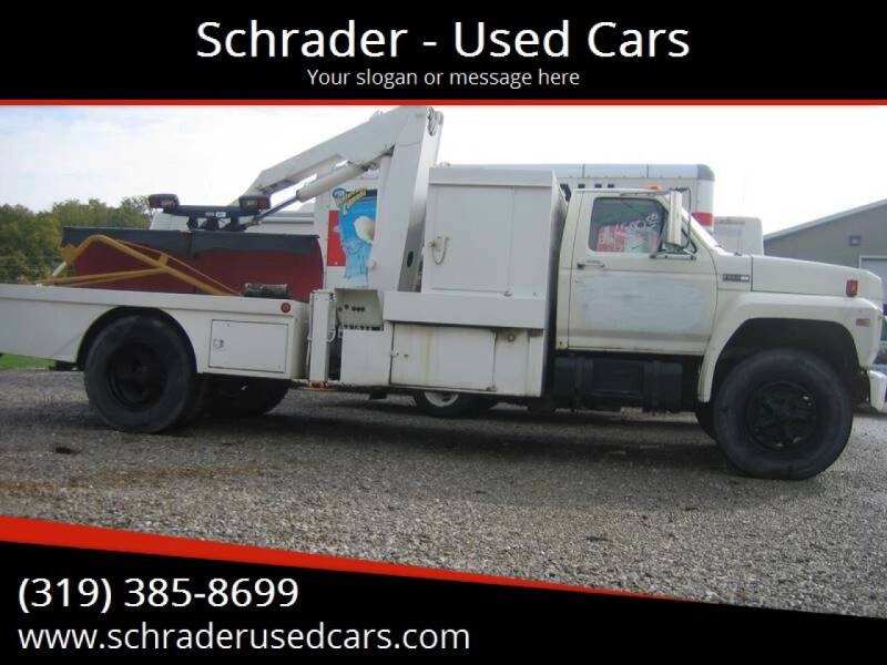 1980 Ford 800 for sale at Schrader - Used Cars in Mt Pleasant IA