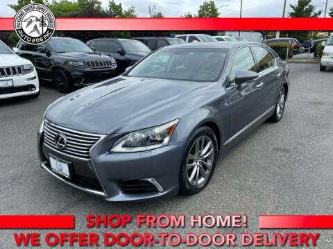 2016 Lexus LS 460 for sale at Auto 206, Inc. in Kent WA