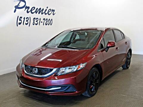 2013 Honda Civic for sale at Premier Automotive Group in Milford OH