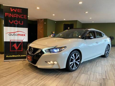 2018 Nissan Maxima for sale at AutoMax in West Hartford CT